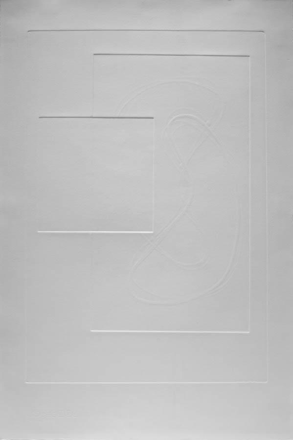 Cellform III Relief Print