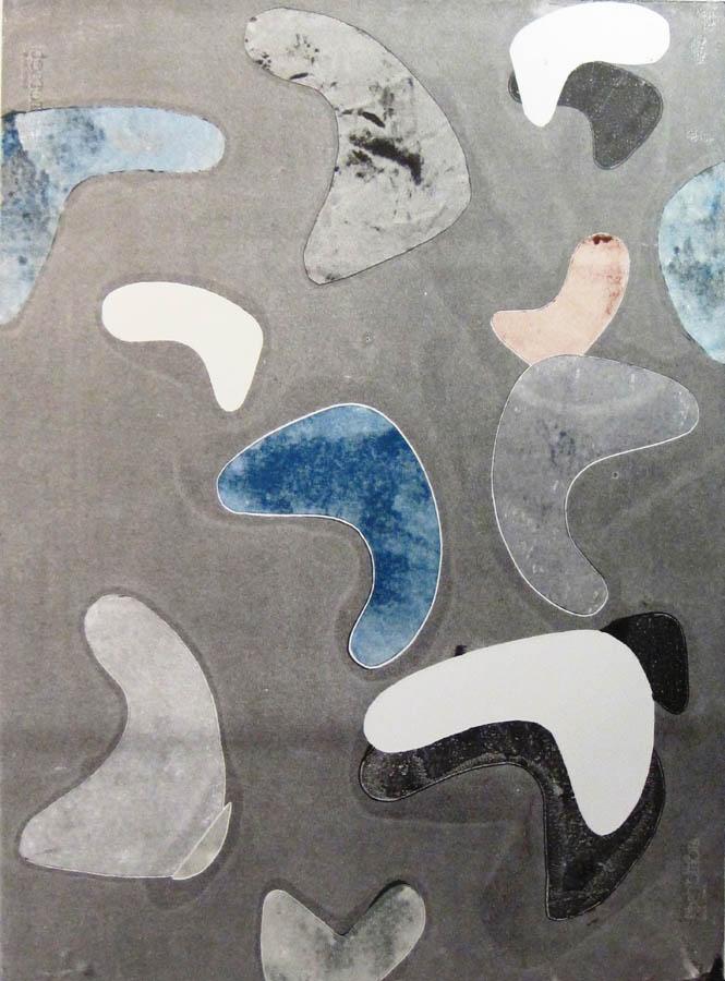 Embossed print - Regeneration