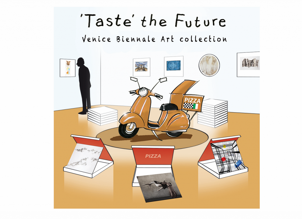 TASTE THE FUTURE – PIZZA BOX EXHIBITION GERMAN EMBASSY 34 BELGRAVE SQUARE LONDON SW1X 8QB